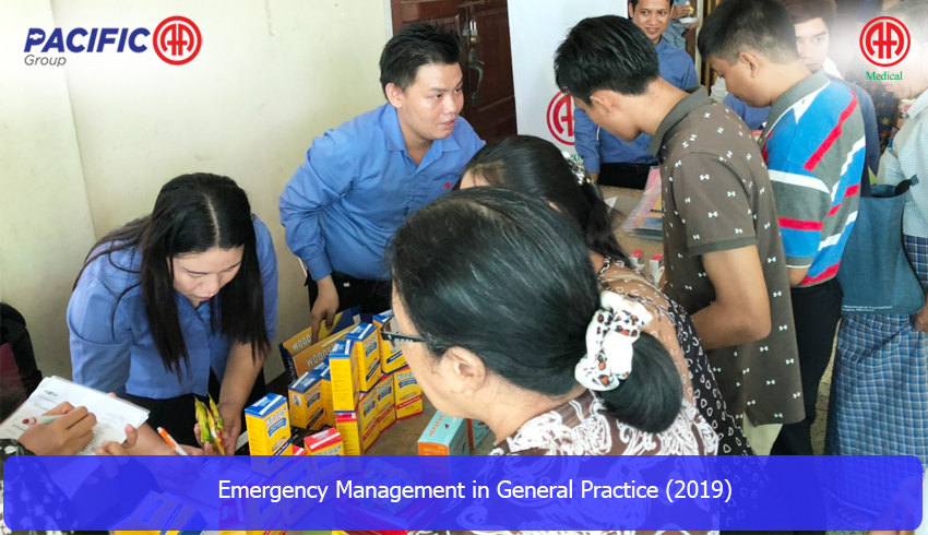"""AA Medical Products Ltd , Pacific-AA Group supported and participated the """" Emergency Management in General Practice 2019  """" program"""