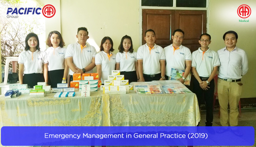 "AA Medical Products Ltd , Pacific-AA Group supported and participated the "" Emergency Management in General Practice (2019) "" program"
