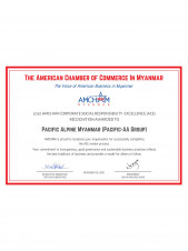 2020 AMCHAM Corporate Social Responsibility Excellence (ACE) Recognition Award